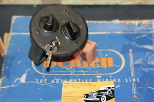 Vintage Ignition Light Switch 20 S 30 S Chris Craft Cadillac Oldsmobile Delco