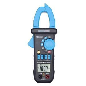 400a Digital Clamp Meter Auto Range Ac Dc Current Voltage Frequency Ncv Tester