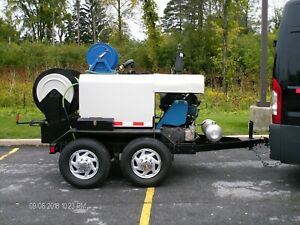 Sewer Jetter Trailer