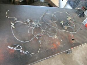 63 64 65 66 Dodge Dart Gt 170 270 Engine Wire Harness Complete Oem Nice