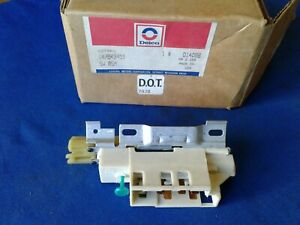 Nos Delco Ignition Column Switch D1408b Gm 7843451 Usa Oem