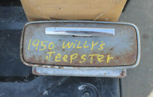 1950 Willys Jeepster Ashtray Nice