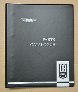 Aston Martin Db5 Parts Catalog Factory Issue Brand New