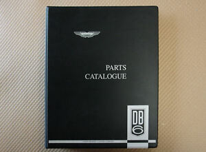 Aston Martin Db6 Parts Catalog Factory Issue Brand New