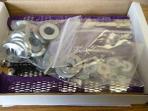 Aston Martin Db4 Db5 Db6 Dbs Chrome Head Nut Kit Cam Covers Washers