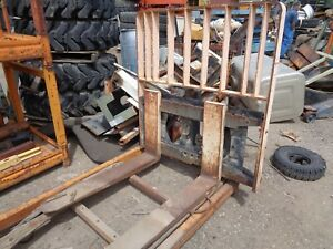 Hyster Side Shift With Forks Model Ss60 42 Part 1317040