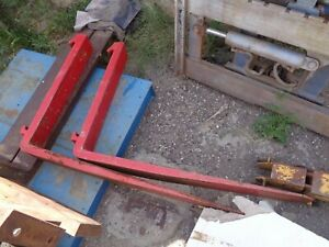 Forklift Forks Long 48 Class 4 only Reds