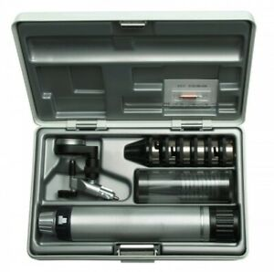 Heine Operating Otoscope Set With Battery Handle 2 5v And Specula In Case