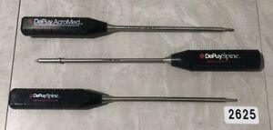 Depuy Synthes Spine 2796 00 120 2865 09 000 Surgical Instrument Lot Of 3 2625