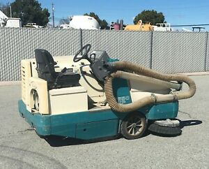 Tennant Power Sweeper 6650 Xp Lp Lightly Used Ride Along Blue