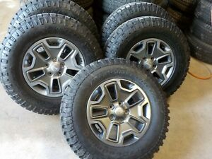5 2017 Jeep Wrangler Jk Rubicon 17 Wheels And Tires 2007 2018