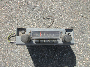1972 76 A Body Am Radio Oem Mopar
