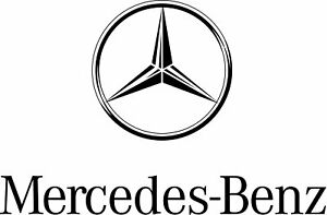 New Genuine Mercedes Benz Carabiner Key Ring With Compass Phk235bl Oem
