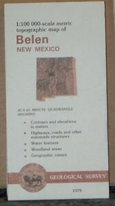 1979 Topographical Map Of Belen New Mexico Geological Survey