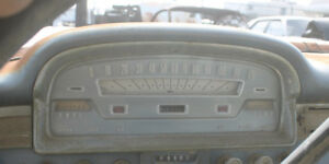 1958 1959 Ford Instrument Cluster