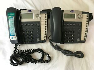 Lot Of 2 At t Small Business Intercom Phone System 945 Phone With Power Supply