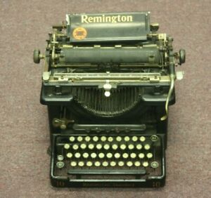Antique Remington Standard 10 Typewriter In Working Condition
