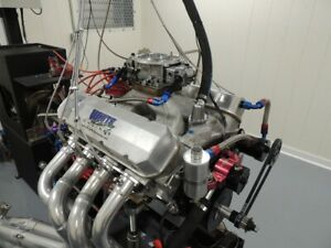 Bbc 572 Chevy Forged 4340 W Diamond Pistons 345 Afr Heads