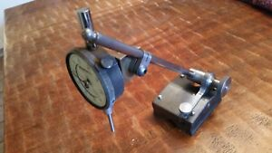 Vintage Starrett 56 Surface Gage Federal C815 Dial Indicator Machinist Mill