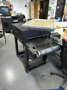 Bbc Little Buddy Conveyor Dryer 120v Screenprinting Setup local Delivery