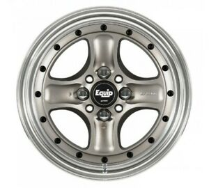 Work Equip 40 Wheels Silver 15x8 0j 6 4hx114 3 Set Of 4 From Japan
