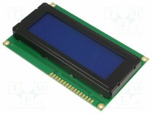 Display Lcd Alphanumeric Stn Negative 20x4 Blue Led Pin 16 Alphanumeric Screen