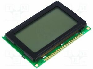 Display Lcd Graphical Fstn Positive 128x64 Led 75x52 7x9 6mm Graphic Screen