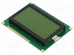 Display Lcd Graphical Stn Positive 128x64 Green Led Pin 20 Graphic Screen