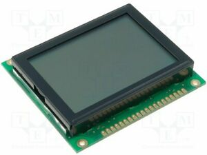 Display Lcd Graphical Stn Positive 128x64 Gray Led Pin 20 Graphic Screen