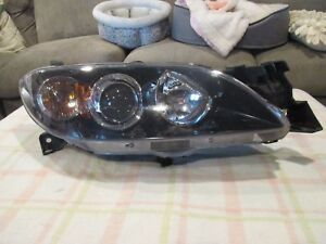 2004 2005 2006 2007 2008 Mazda 3 Sedan Passenger Right Side Xenon Headlight Oem