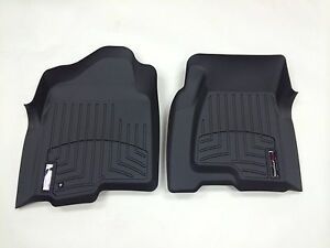 Weathertech Custom Car Truck Floor Mat Floorliner 440031 1st Row Black
