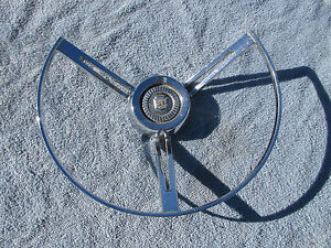 1962 Ford Steering Wheel Horn Ring Galaxie Fairlane Fomoco
