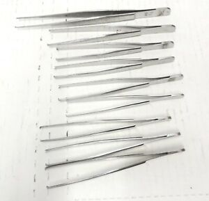 Miltex Tissue Forceps Surgical Instrument Lot 2x3 1x2 Teeth 6 62 6 40
