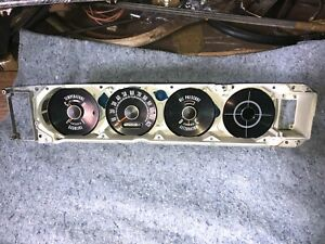 1964 Plymouth Dash Instrument Cluster Assembly B Body Plymouth 64 Mopar