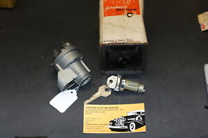 1961 1962 1963 Chevrolet Ignition Switch Genuine Delco Remy