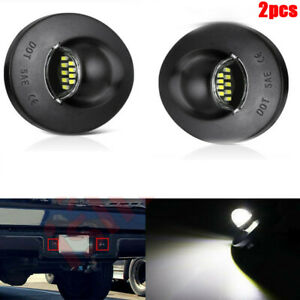 Led License Plate Light For Ford F 150 F250 F350 90 14 Pickup Truck Bright Smd