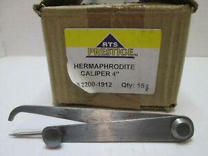 4 Mechanical Hermaphrodite Caliper 4 Inch Firm Joint New
