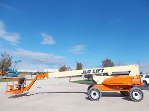 2010 Jlg E600jp 60ft Electric Boom Lift Man Lift Aerial Lift Boom Manlift Man