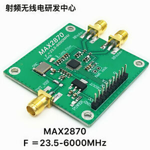 Rf Signal Generator Max2870 23 5mhz 6ghz Phase locked Loop Pll Rf Source