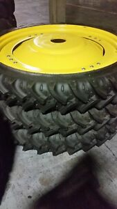 230 95r48 Kleber Super Ag 9 5r48 R1 Tires On New John Deere Wheel Sprayer Tire
