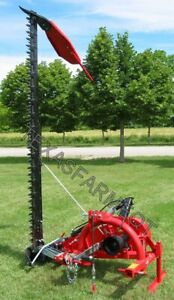 Enorossi 6 3 point Sickle Bar Mower Ships Free To Texas Surrounding States