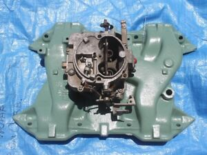 1962 1963 1964 1965 Dodge Plymouth Intake Manifold Carburetor 361 383 Nice