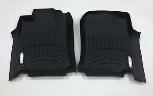 Weathertech Custom Car Truck Floor Mat Floorliner 440111 1st Row Black