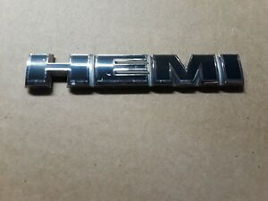 2006 2010 Dodge Charger Magnum Oem Hemi Fender Emblem Badge Sign Ships Fast