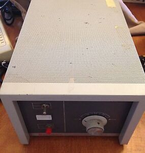 Beckman Industries 71700 Hydrogen mercury Lamp Power Supply Powers Up Vgc