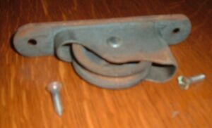 Window Sash Sheave Pulley From Weights And Rope Door Roller