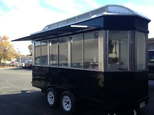 Diner Style Concession Trailer Food Truck