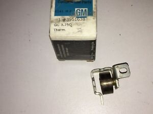 1969 1970 Chevrolet Pass Carburetor Choke Thermostat Nos Chevelle Camaro Nova