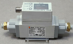 Smc Pf2a721 n03 27 Digital Flow Switch For Air This Is A Good Working Item