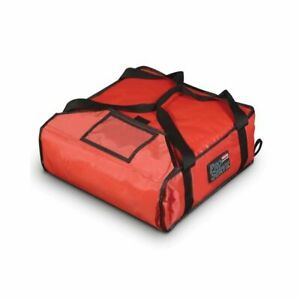 Rubbermaid Fg9f3500red Proserve Small Red Pizza Delivery Bag